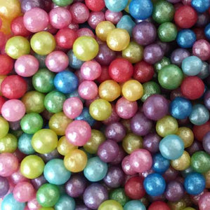 Rainbow Glimmer Pearls