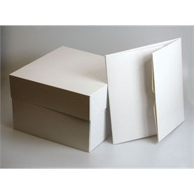 White Cake Box (Various Sizes)