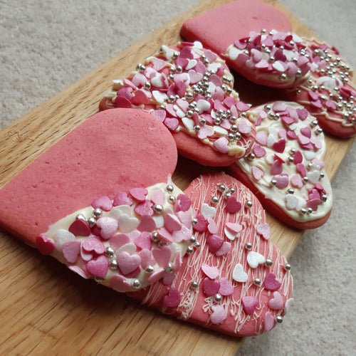 Heart Shaped Cookie Kit