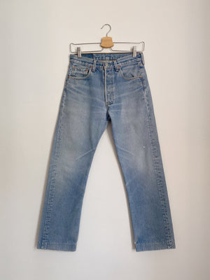 Vintage Levi's 501xx light blue jeans W29 L33