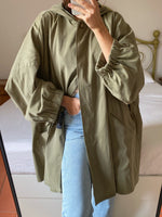 Vintage MaxMara over fit parka trench