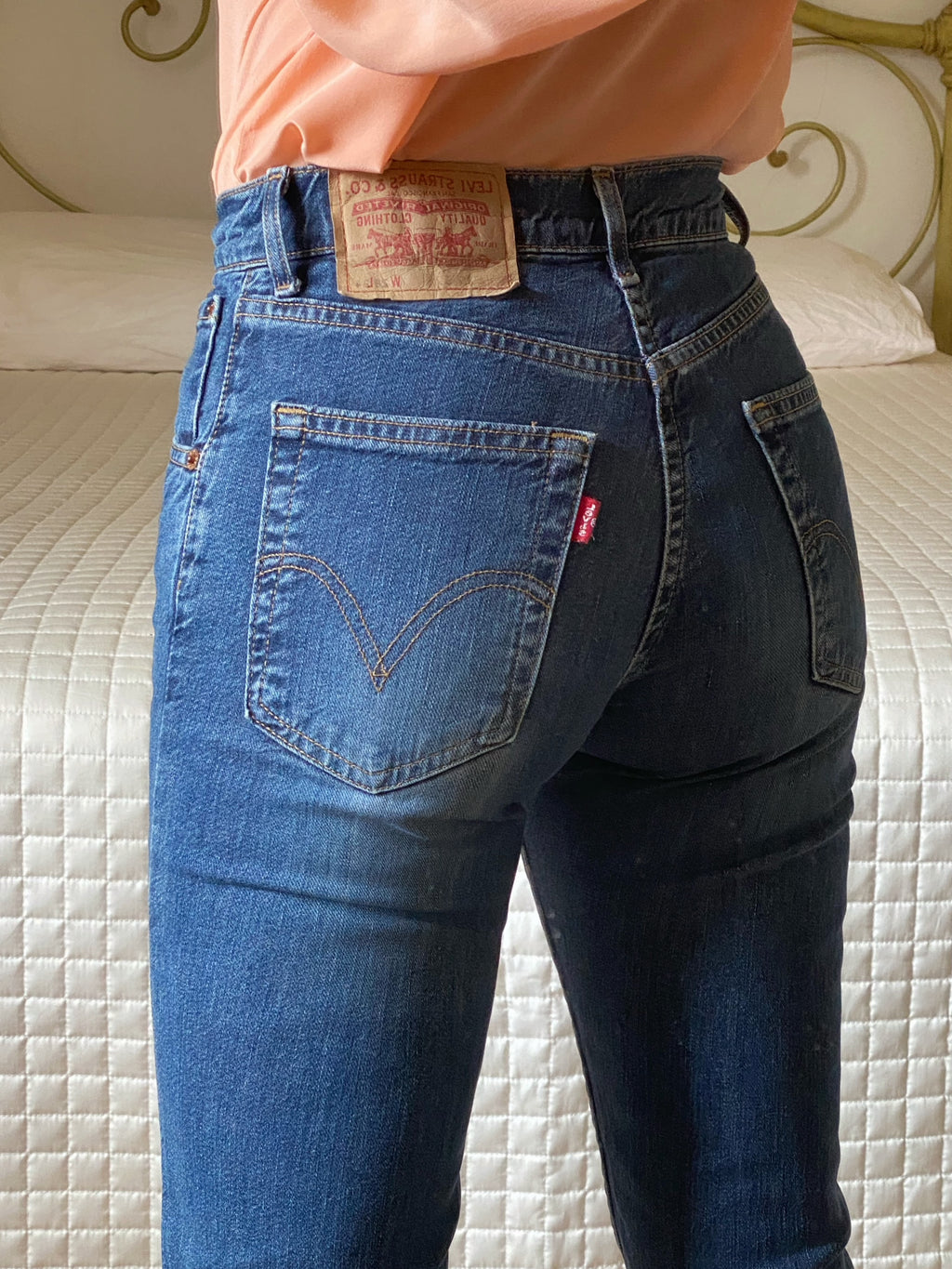 Levi's 525 blue flare jeans W28/L34
