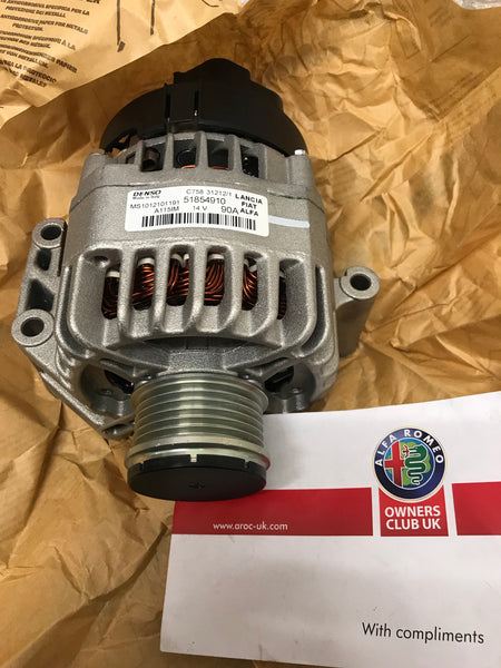 Reconditioned alternator - diesel - 71794527.   51854910