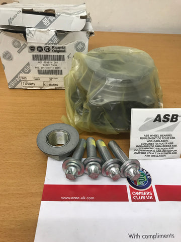 Wheel bearing kit - front - 159 Brera Spider - 71753815