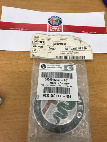Bonnet badge - 4C, Giulia & Mito - 50541293