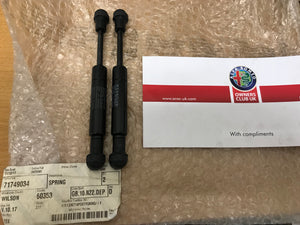 Folding roof struts - pair - Spider 71749034