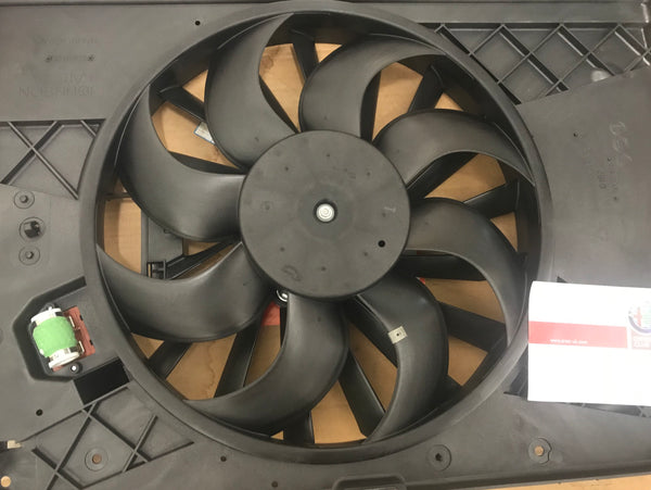 Radiator fan motor with resistor - 159, Brera & Spider - 50517163