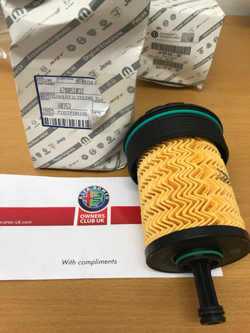 Oil filter - 2.9 V6 Quadrifuglio - Giulia