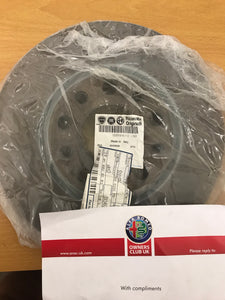 Brake disc - one - front - Giulietta 1.6 JTDM