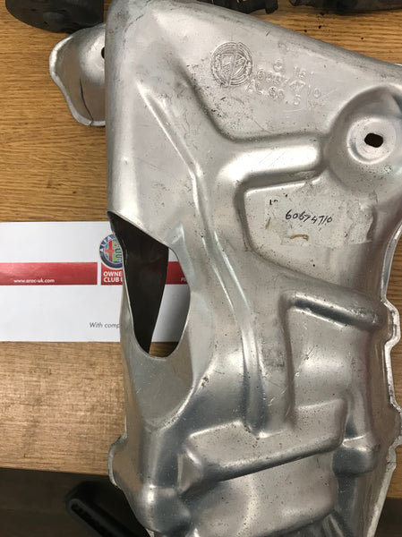 Exhaust manifold heat shield - 147