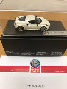 Model car - 4C in presentation box - 5916751