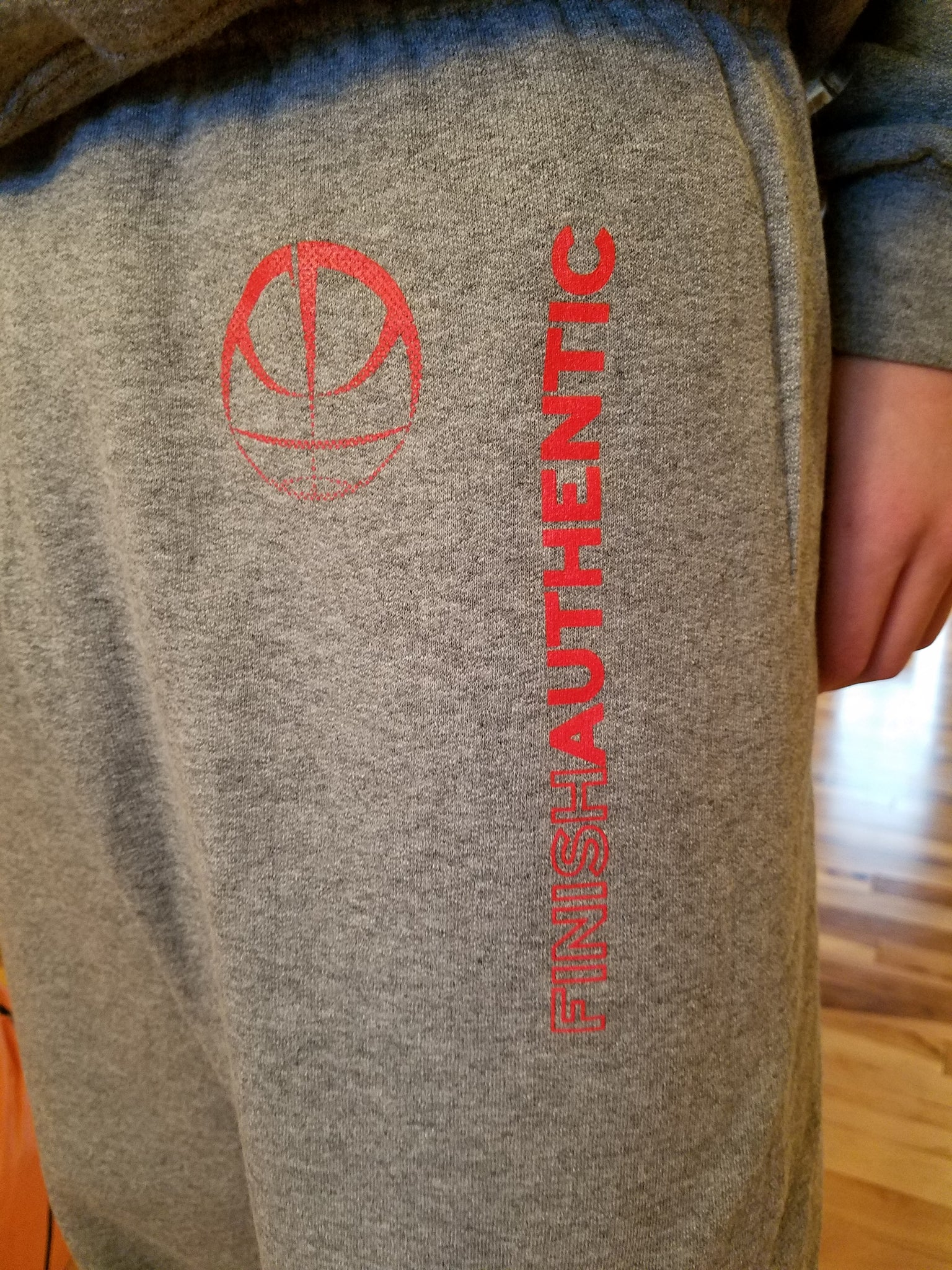 Finish Authentic - FA Box Out Designer Basketball Sweats Closeup