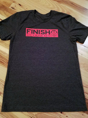 Finish Authentic - FA Box Out 1 Designer Basketball T-Shirt