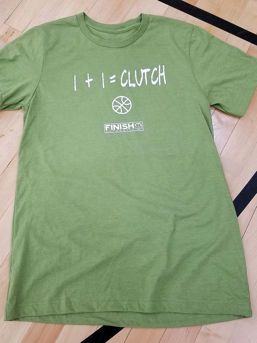 Finish Authentic - FA Clutch Math Designer Basketball T-Shirt