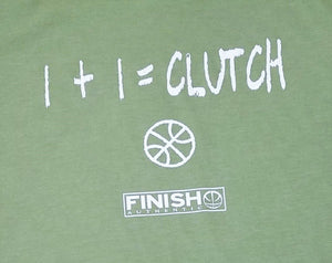 Finish Authentic - FA Clutch Math Designer Basketball T-Shirt Closeup