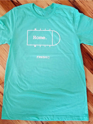 Finish Authentic - FA Home Mint Designer Basketball T-Shirt