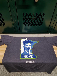 Finish Authentic - FA Hope MN Designer Basketball T-Shirt