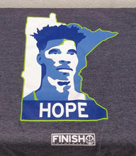 Finish Authentic - FA Hope MN Designer Basketball T-Shirt Closeup