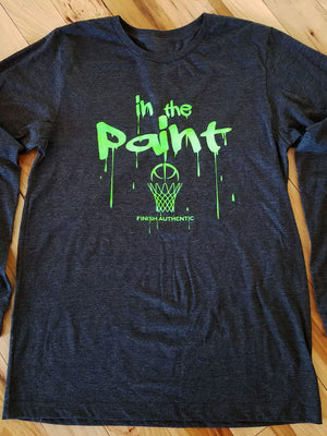 Finish Authentic - FA Paint 1 LS Designer Basketball T-Shirt