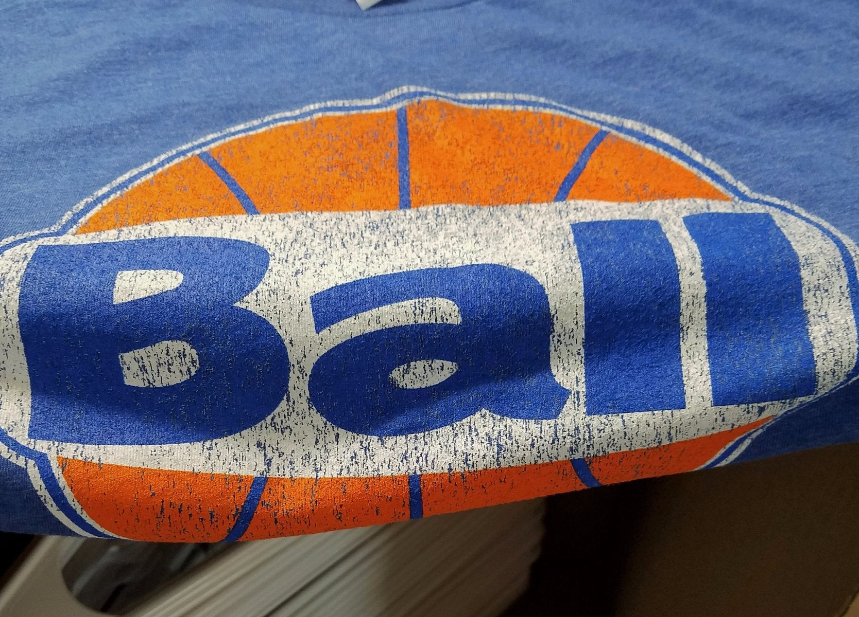 Finish Authentic - FA RetroBall Designer Basketball T-Shirt Closeup