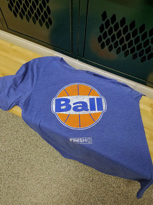 Finish Authentic - FA RetroBall Designer Basketball T-Shirt
