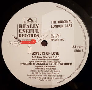 Aspects of Love (1989 UK Double LP)