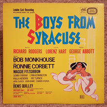 The Boys From Syracuse (1970's US LP)