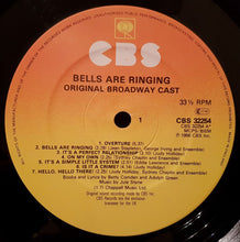 Judy Holliday - Bells Are Ringing (1980's UK LP)