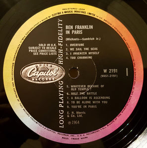 Ben Franklin in Paris (1964 UK LP)