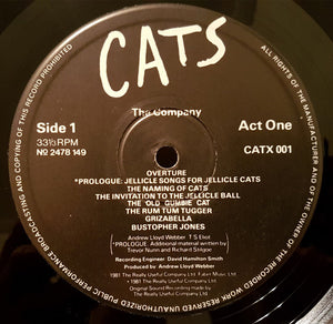 Cats (1981 UK Double LP)