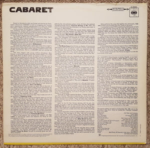 Cabaret (1966 German LP)