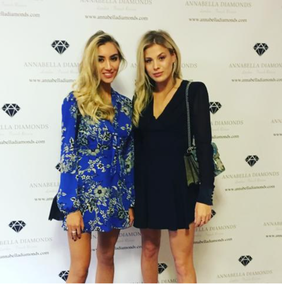 Frankie Gaff attends the ANNABELLA DIAMONDS launch party