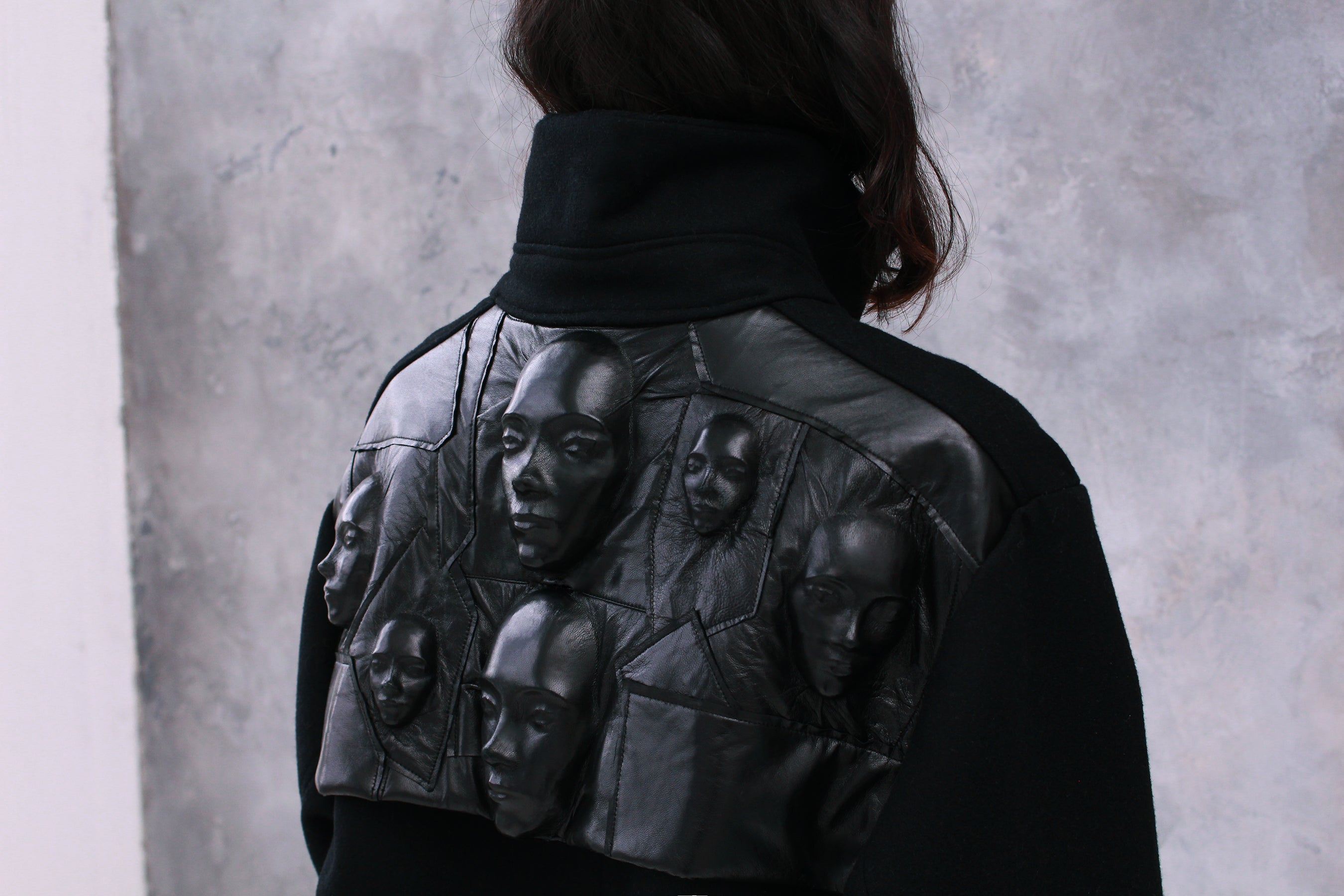 3D Faces Coat