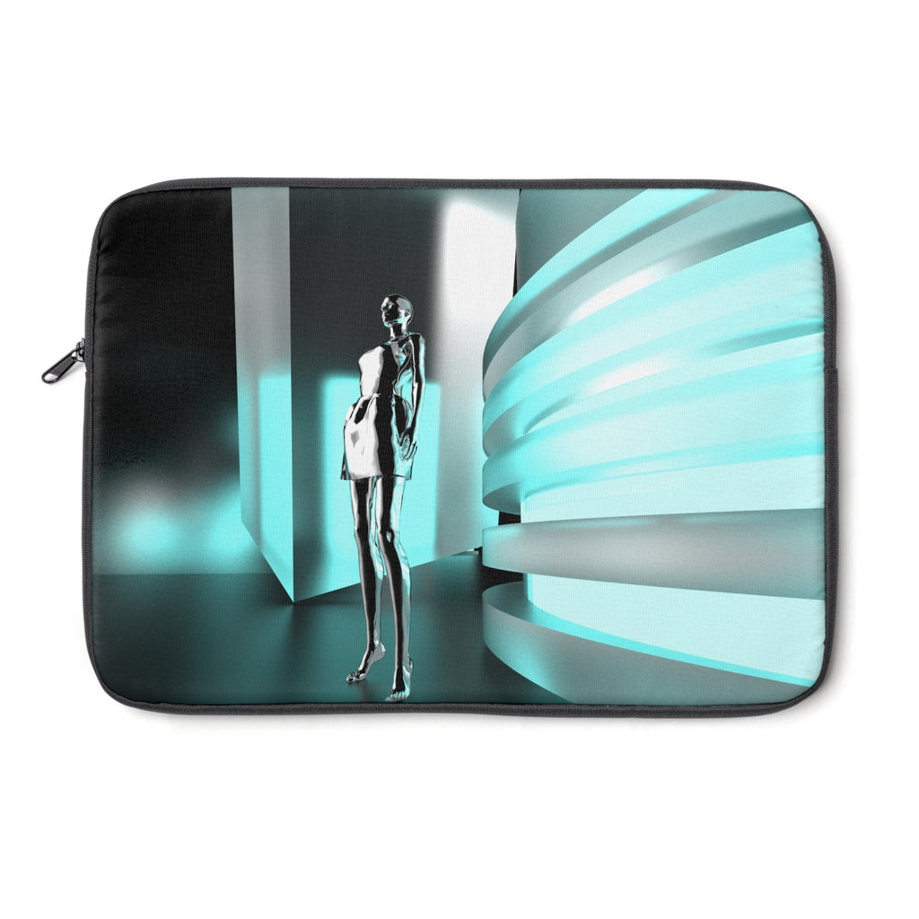Neon Chrome Laptop Sleeve