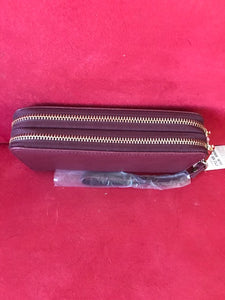 Double Zip-Around Wristlet