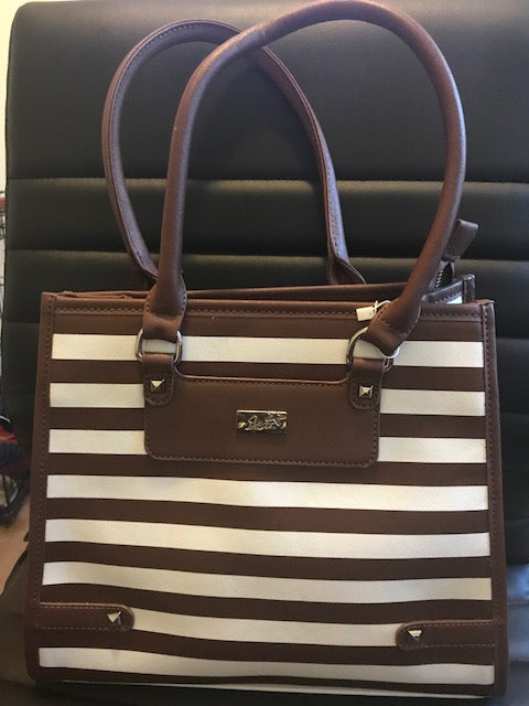 Refined Striped Tote