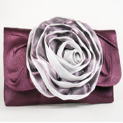 Purple Clutch Evening Bag