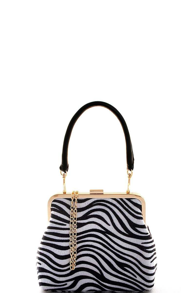 Modern Animal Pattern Shoulder Bag