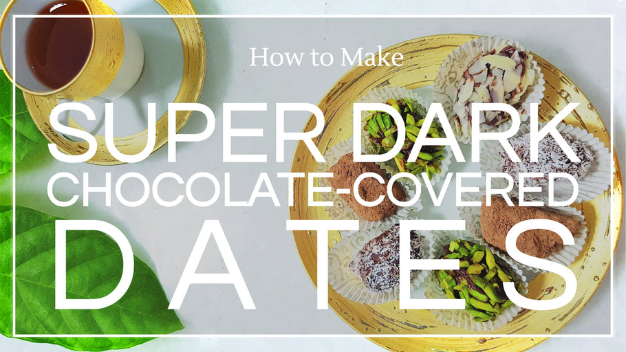 Recipe: Super Dark Chocolate-Covered Dates