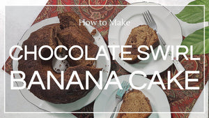Recipe: Chocolate Swirl Banana Cake - Co Chocolat