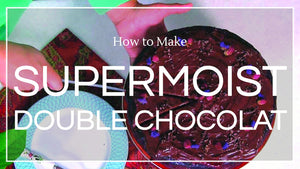 Recipe: Supermoist Double Chocolat Cake - Co Chocolat