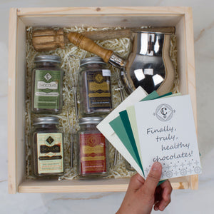 Chocolatl Lovers Adventure in Stainless Steel - Gift Box