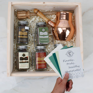 Chocolatl Lovers' Adventure in Copper - Gift Box
