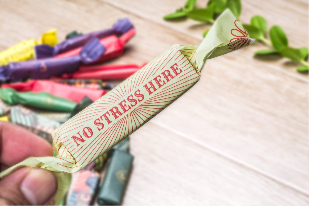 No Stress Here 45% Dark Milk Chocolate  - Chocolate Finger