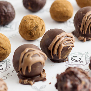 Fresh Chocolate Cookie Truffles - Co Chocolat