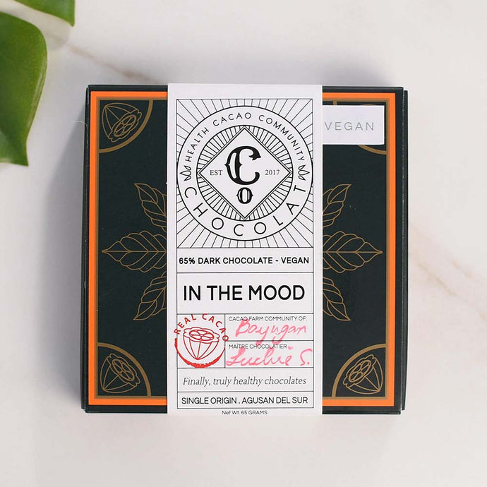 In the Mood - 65% Dark Chocolate - Chocolate Bar - Co Chocolat