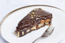 The Healthy Snickers Pie - Co Chocolat