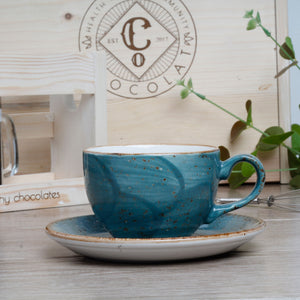 Steelite Cup and Saucer - Co Chocolat