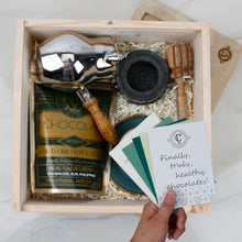 The Purist Chocolatl Drinker - Steel and Craft Green - Gift Box