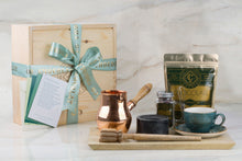 The Purist Chocolatl Drinker - Copper and Farm Blue - Gift Box